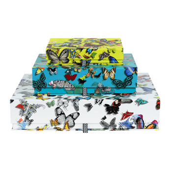 Christian Lacroix Paperie Butterfly Parade Box — Set of 3