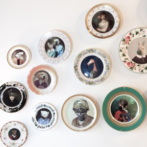 Decorative Portrait Plates