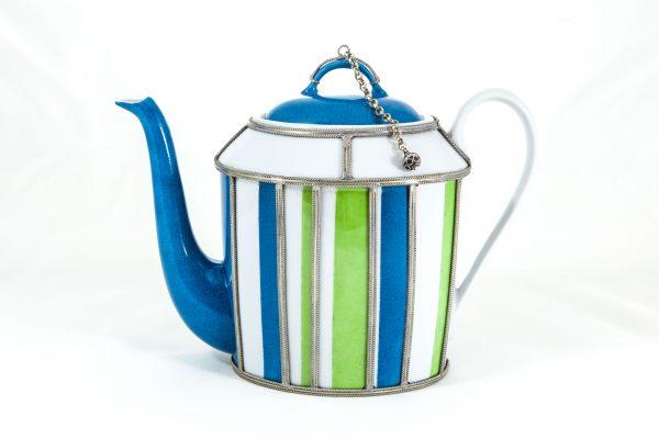 Bayadere Limoges Teapot