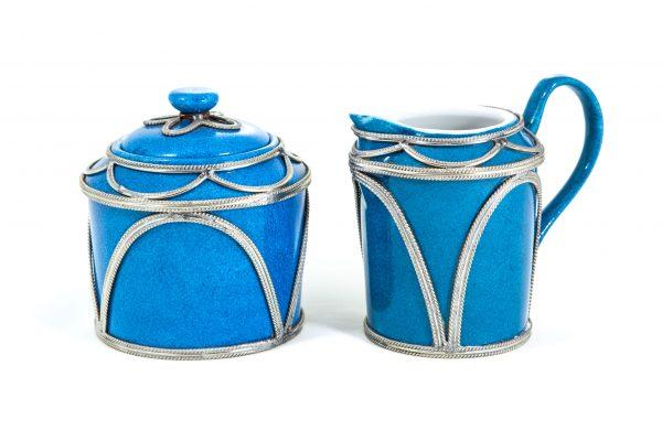 Limoges Porcelain Creamer and Sugar Set