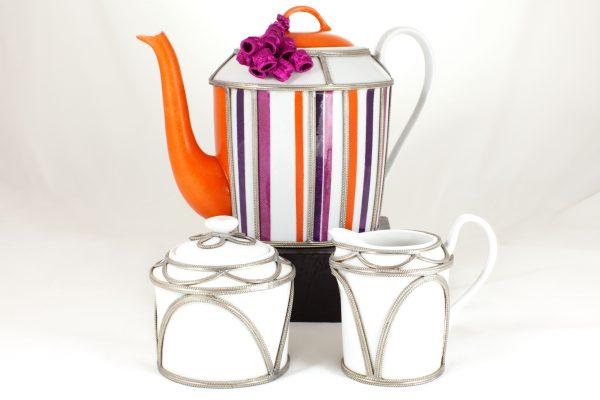 Limoges Porcelain Teapot