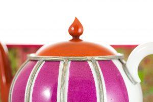 Boule Rayee Teapot Details