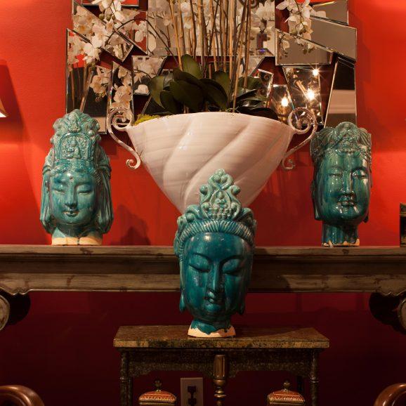 Buddha Head Trio