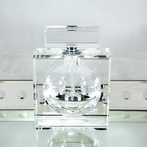 Modern Morocco Collection Reusable Glass Perfume Bottle Close