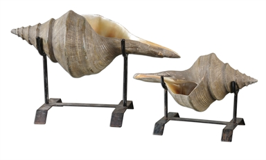 Conch Shell on Stand