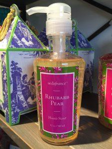 Seda France Rhubarb Pear Hand Soap