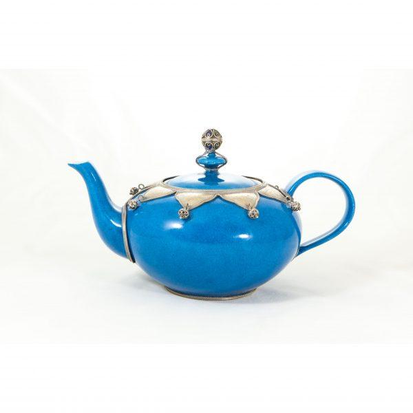 Aladdin Limoges Porcelain Teapot