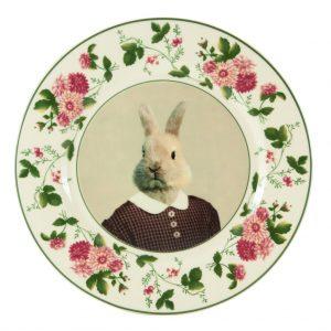 Bernice Bunny Plate