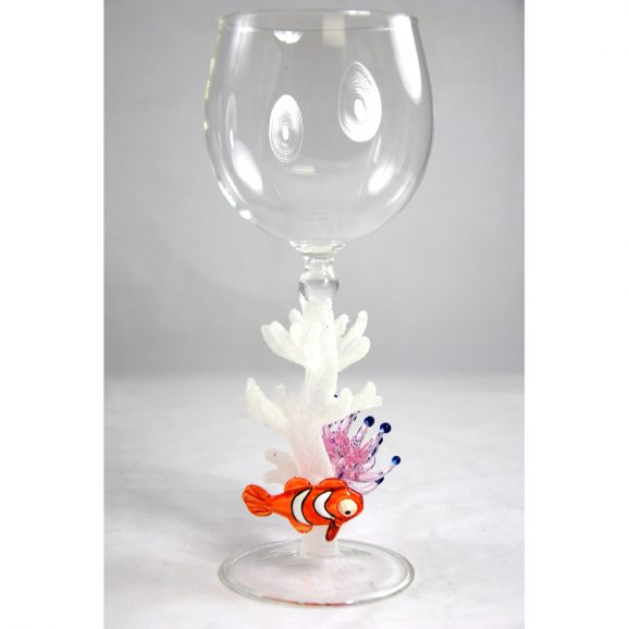 Clown Fish Wine Glass