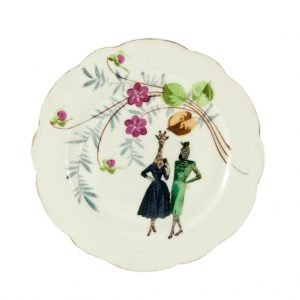 Lucinda and Hazel Animal Plate