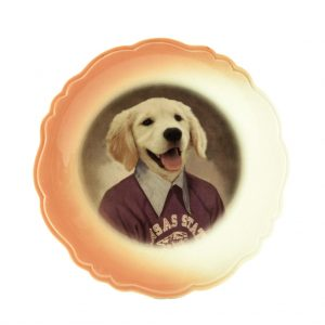 Max the Dog Decorative Animal Plate