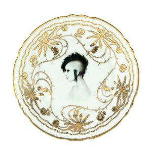 Modern Lady Punk Plate