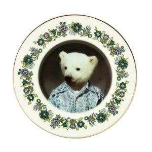 Pete Polar Bear Plate