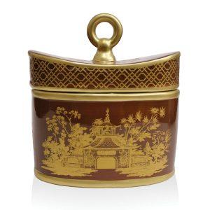 Jardins du Seda France Pomme Marais Ceramic Candle