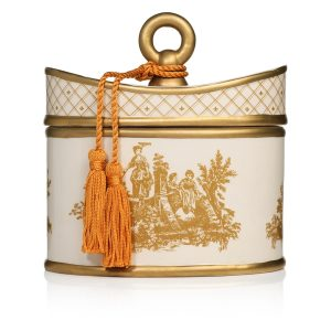 Classic Toile Seda France Sicilian Tangerine Two-Wick Candle