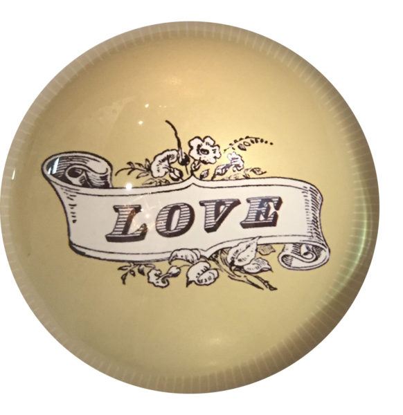 Love Paperweight