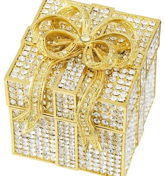Olivia Reigel Crystal Pavé Box