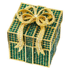 Olivia Riegel Emerald Pavé Box