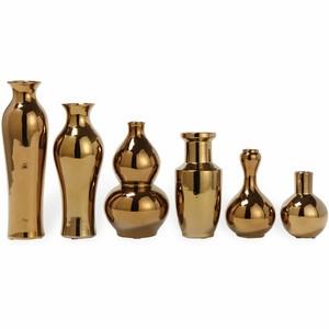 Golden Porcelain Vase — Assorted