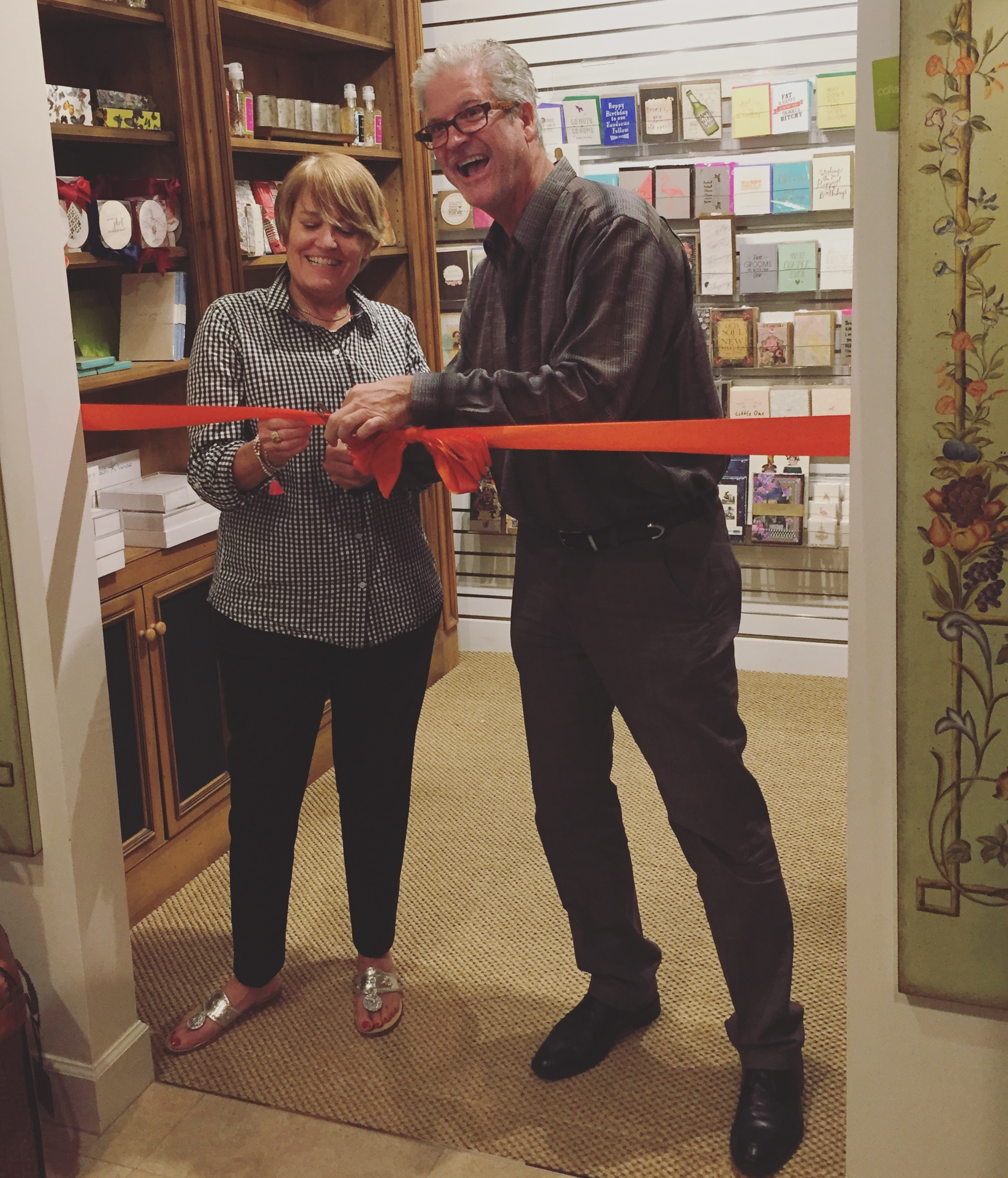 The Paperie Ribbon Cutting