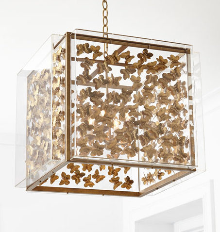 Tommy Mitchell Butterfly Chandelier
