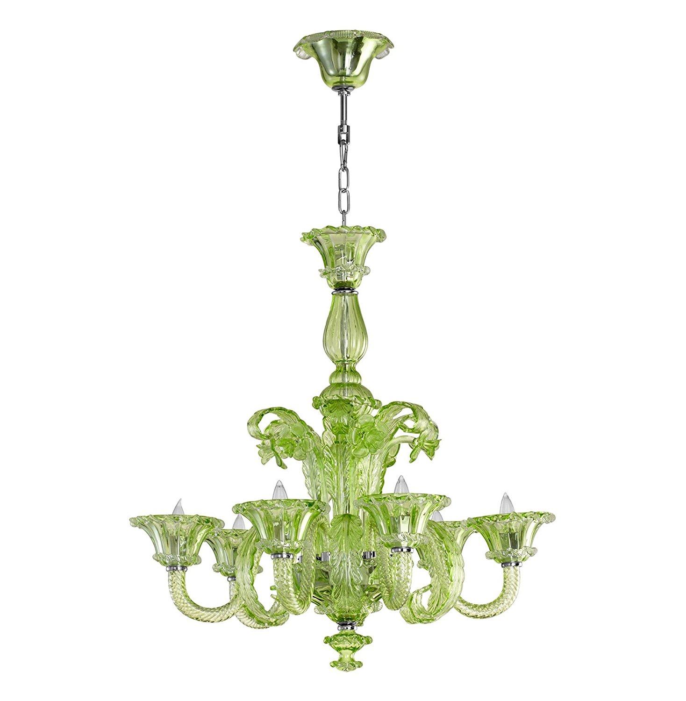 La scala green murano glass chandelier collage home murano glass chandelier aloadofball Gallery