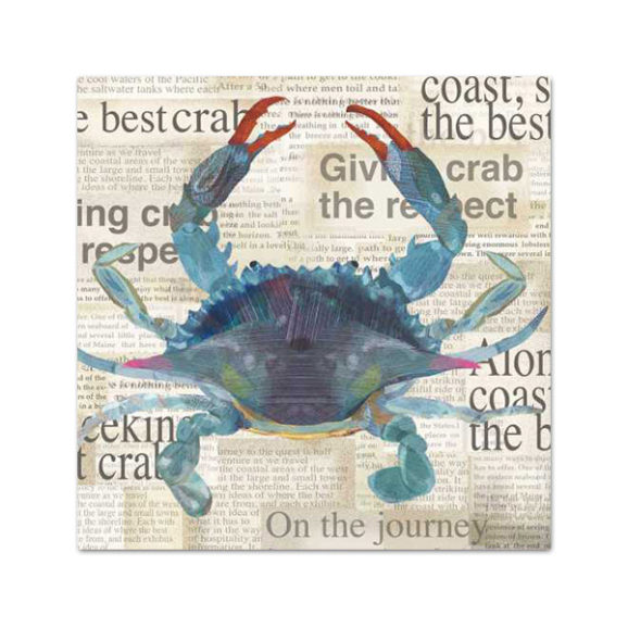 PPD Best Blue Crab Cocktail Napkins
