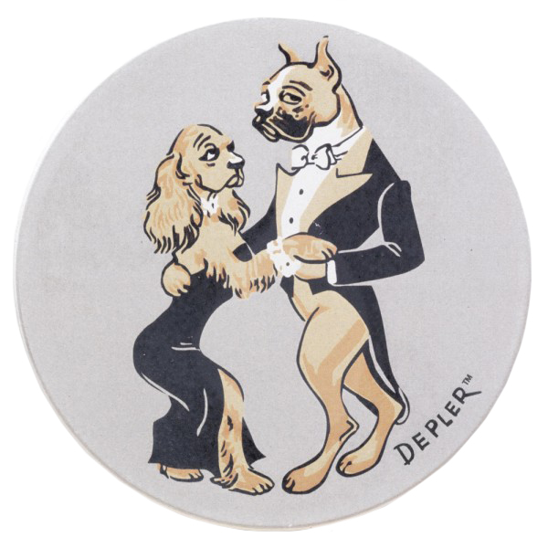 Original Depler Dog Coaster