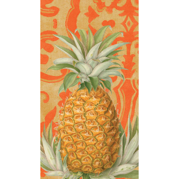 Casper Royal Pineapple Guest Towel