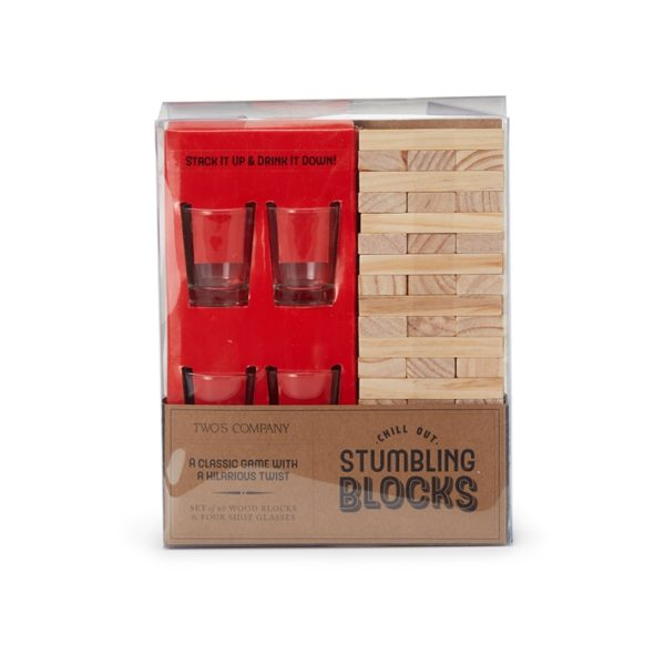 Stumbling Blocks Shot Game