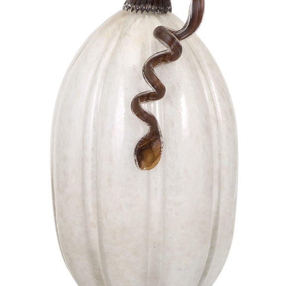 Alpine Large Glass Pumpkin