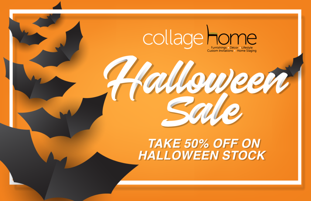 Halloween Sale Collage Home