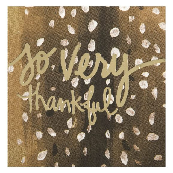 So Very Thankful Beverage Napkins