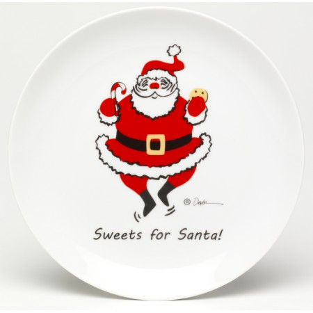 Sweets For Santa Cookie Plate