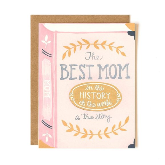 Best Mom in the History of the World Card